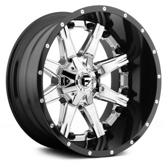 FUEL® - NUTZ 2PC FORGED CENTER Black with Chrome Face