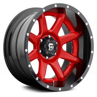 FUEL® - RAMPAGE 2PC FORGED CENTER Any Generic Color Center with Black Lip