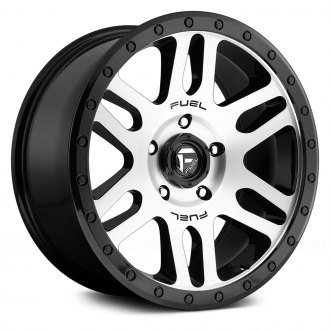 FUEL® - RECOIL 1PC Black with Machined Face