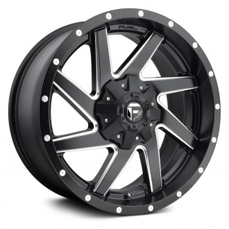 FUEL® - D594 RENEGADE 1PC Black with Milled Accents