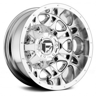 FUEL® - THROTTLE DUALLIE 1PC Chrome PVD