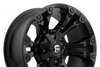 "FUEL® - VAPOR Matte Black (20"" x 9"", +20 Offset, 5x150 Bolt Pattern, 110.3mm Hub)"