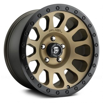 FUEL® - D600 VECTOR 1PC Matte Black with Bronze Face and Bead Ring