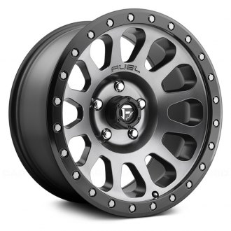 FUEL® - VECTOR 1PC Matte Black with Gunmetal Face and Bead Ring