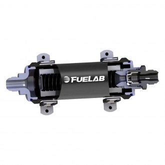 Fuelab® - 858 Series High Flow Integrated Filter with Check Valve