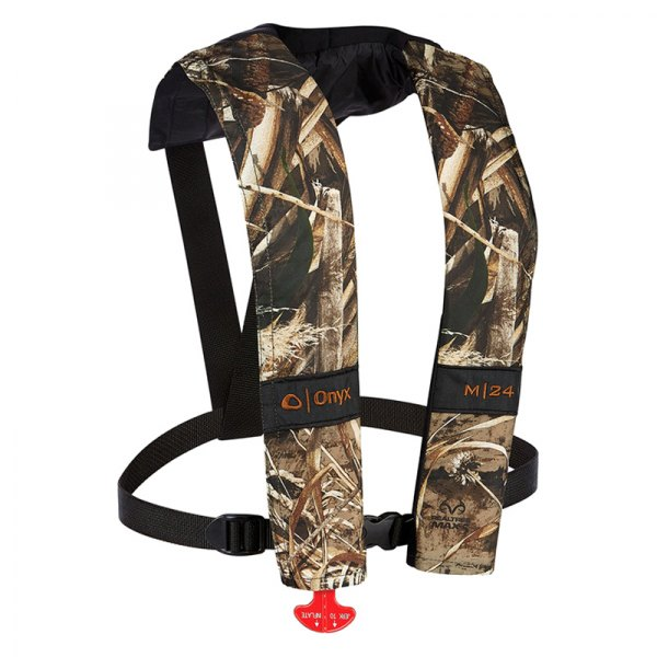 Full Throttle® - M-24 Manual Inflatable Camo Life Vest