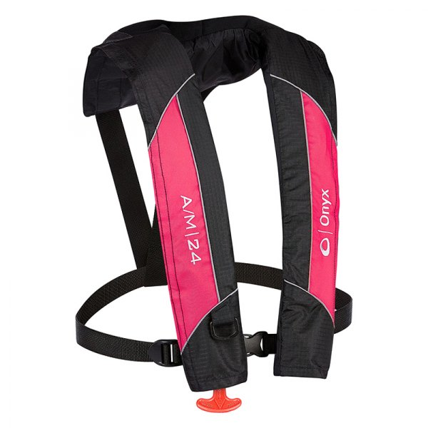 Full Throttle® - A/M-24 Automatic/Manual Inflatable Pink Life Vest