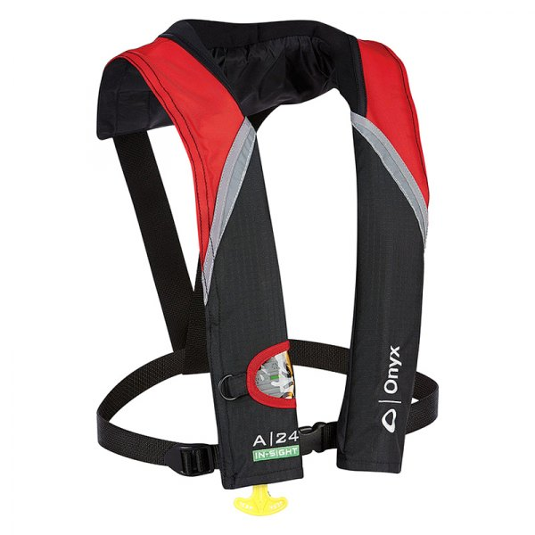 Full Throttle® - A-24 In-Sight Automatic Inflatable Red Life Vest