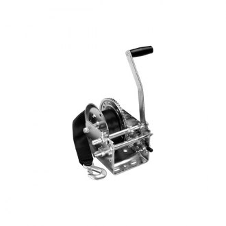 Fulton® - 2-Speed Winch w/o Cover with 20' Strap