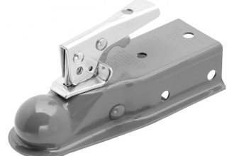 "Fulton® - Primed Coupler with 2"" Straight Channel for 1-7/8"" Hitch Ball"