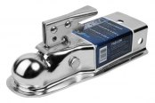 "Fulton® - Zinc Coupler with 3"" Straight Channel for 2"" Hitch Ball"