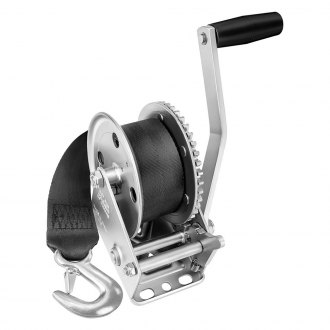 Fulton® - 1,100 lbs Single Speed Trailer Winch With 20' Strap