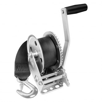 Fulton® - 1,500 lbs Single Speed Trailer Winch With 20' Strap