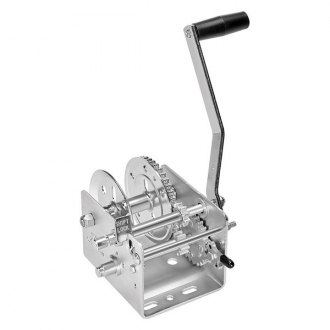 Fulton® - 2,000 lbs 2-Speed Hand Winch W/O Strap and w/o Brake