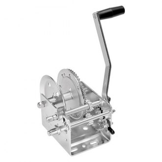 Fulton® - 2,600 lbs 2-Speed Hand Winch W/O Strap and w/o Brake