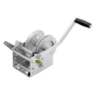 Fulton® - 2,600 lbs 2-Speed Hand Winch W/O Strap and With Brake