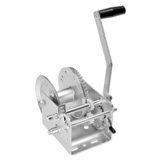Fulton® - 3,200 lbs 2-Speed Hand Winch W/O Strap and w/o Brake