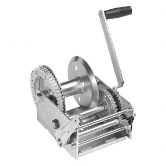 Fulton® - 3,700 lbs 2-Speed Hand Winch W/O Strap and w/o Brake