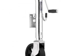 "Fulton® XP15W 0301 - Weld-On Steel Swing-Away Marine Jack with 8"" Poly Wheel (1500 lbs)"