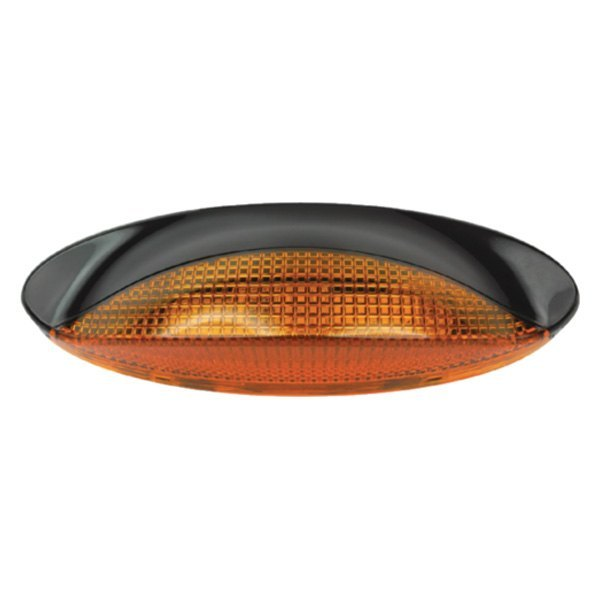 FulTyme RV® - Low Profile Oval Porch Amber LED Utility Light