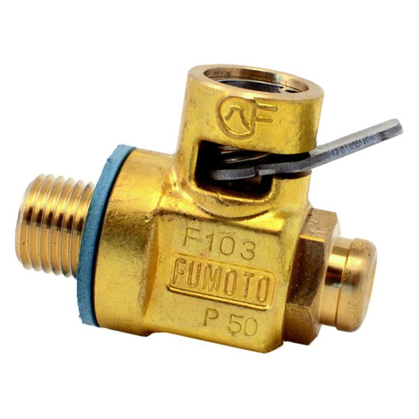 Fumoto® - S Series Oil Drain Valve with Short Nipple, 12 mm Diameter, 1.25 mm Thread Pitch