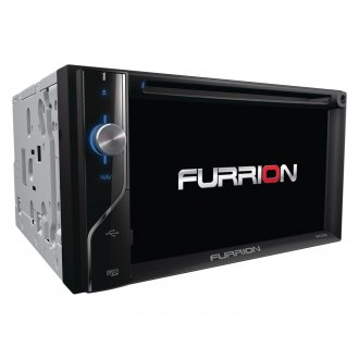"Furrion® - Double DIN DVD/CD/AM/FM/MP3/WMA/FLAC/AAC/MP4/AVI Receiver with 6.2"" Touchscreen Display Built-In Bluetooth and GPS Navigation"