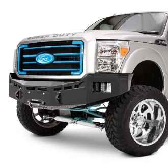 Fusion Bumpers® - Full Width Raw Front Winch HD Bumper