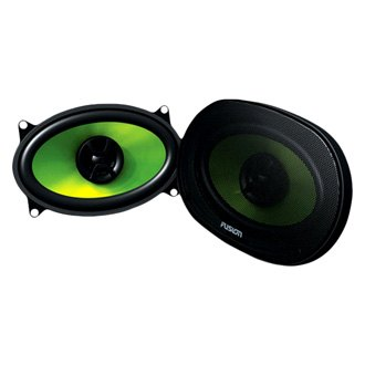 "Fusion® - 4"" x 6"" Encounter Series 2-Way 160W Coaxial Speakers"