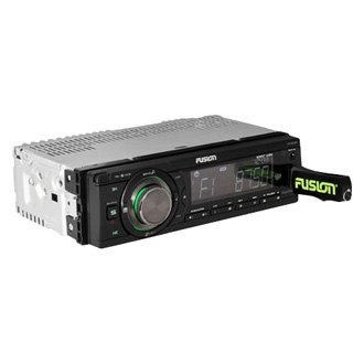 Fusion® - Single DIN AM/FM USB/SD Mechless Receiver with Bluetooth