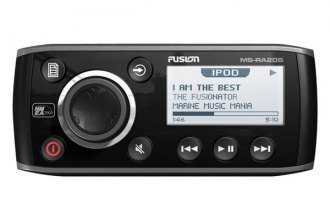 Fusion® - Single DIN Marine AM/FM/iPod Weather Band Receiver