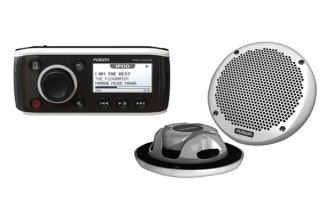 Fusion® - Single DIN Marine AM/FM/iPod Stereo Combo Pack