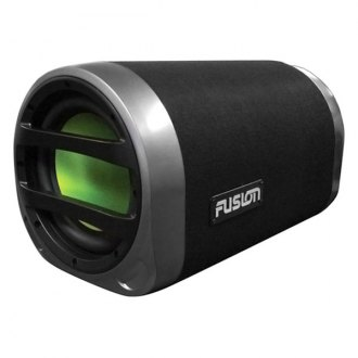 "Fusion® - 10"" CS Series Single Sealed Powered 360W Subwoofer Tube"