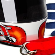 G-Force Racing Gear® - Pro Vintage Full Face Helmet