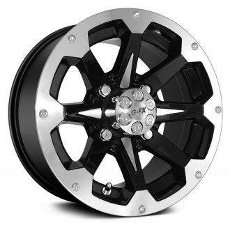G-FX® - ATV SIX SHOOTER Gloss Black with Machined Face