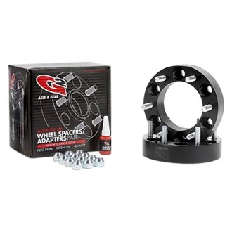G2 Axle & Gear® - Black Anodized T-6061 Aluminum Alloy Wheel Spacer Kit