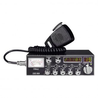 Galaxy® - 40 Channel AM/SSB Mobile CB Radio with 5-Digit Frequency Display