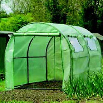 Gardman® - Polytunnel With Reinforced Cover and Windows