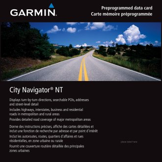 Garmin® 010-10966-00 - City Navigator™ North America NT: Canada Only