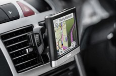 Garmin® - nuvi GPS Navigator Air Vent Mounted
