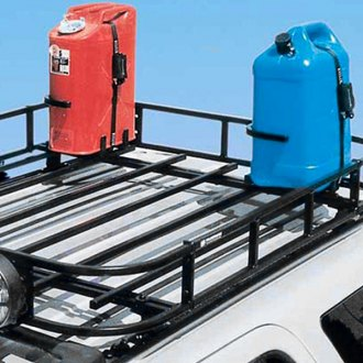 Garvin® - Roof Rack Mounted Gas/Water Can Holder