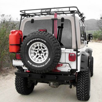 Garvin® - ATS Series Full Width Rear HD Bumper with Tire Carrier