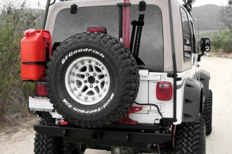 Garvin® - ATS Series Rear Bumper with Tire Carrier