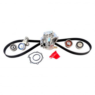 Gates® - PowerGrip™ OE Improved Timing Belt Component Kit with Water Pump