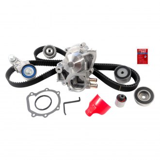 Gates® - PowerGrip Premium OE Timing Belt Component Kit with Water Pump