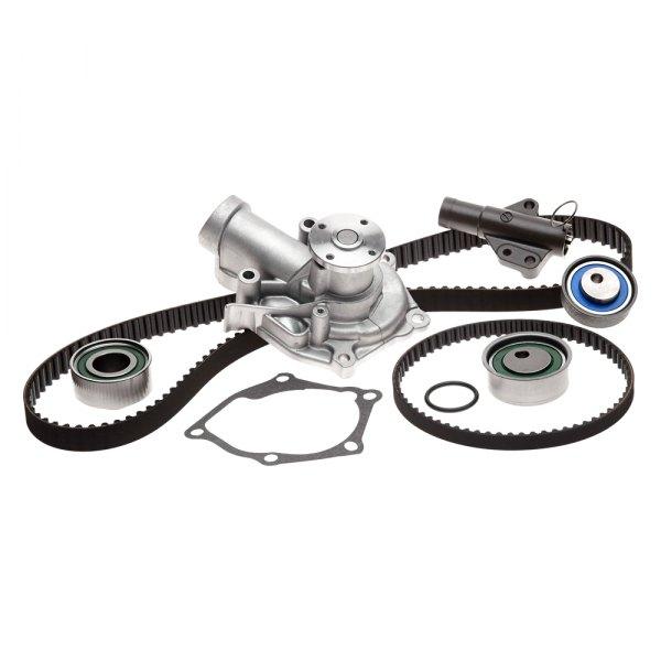 Gates PowerGrip Timing Belt Kit with Water Pump for 2004 Mitsubishi Galant bu