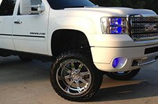 GEAR ALLOY® - 726C BIG BLOCK Chrome on GMC Sierra