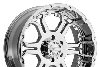 "GEAR ALLOY® - 715C RECOIL Chrome (17"" x 9"", +25 Offset, 6x139.7 Bolt Pattern, 107.95mm Hub)"