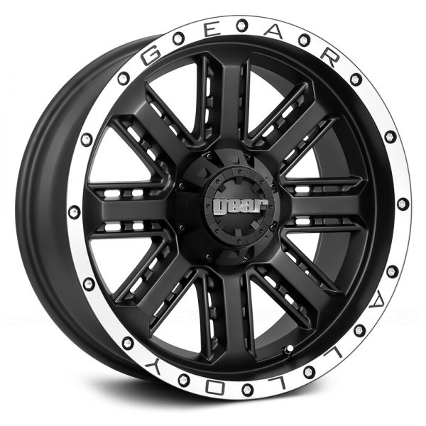GEAR ALLOY® - 723MB NITRO Black with Machined Flange