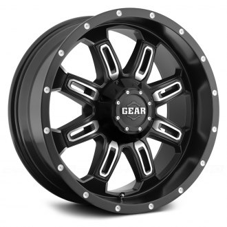 GEAR ALLOY® - 725MB DOMINATOR Satin Black with Machined Accents