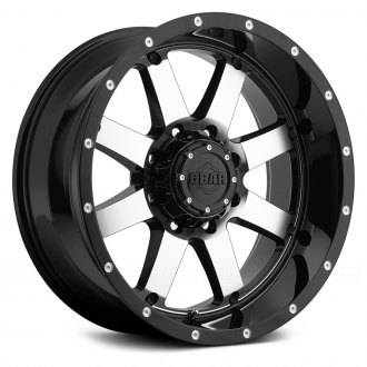 GEAR ALLOY® - 726M BIG BLOCK Gloss Black with Mirror Machined Face